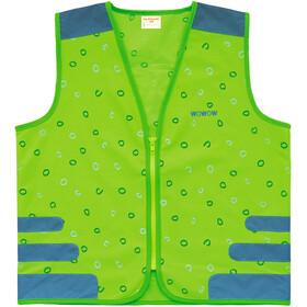 Wowow Nutty Safety Vest Kids, groen